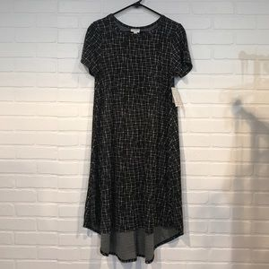 LuLaRoe Carly NWT S black/white